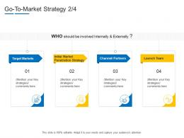 Go To Market Strategy Target Product Channel Segmentation Ppt Demonstration