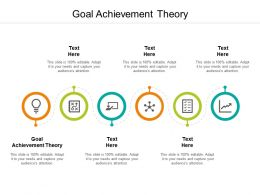 Goal Achievement Theory Ppt Powerpoint Presentation Pictures Maker Cpb