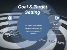 Goal And Target Setting Ppt Sample Download