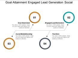 Goal Attainment Engaged Lead Generation Social Media Branding Cpb