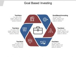 Goal Based Investing Ppt Powerpoint Presentation Outline Outfit Cpb