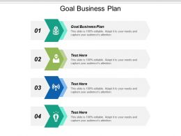 Goal Business Plan Ppt Powerpoint Presentation Gallery Portrait Cpb