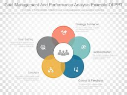 Goal Management And Performance Analysis Example Of Ppt