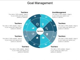 Goal Management Ppt Powerpoint Presentation Outline Slide Portrait Cpb