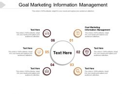 Goal Marketing Information Management Ppt Powerpoint Presentation Clipart Cpb