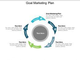 Goal Marketing Plan Ppt Powerpoint Presentation Ideas Slides Cpb