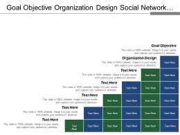 Goal Objective Organization Design Social Network Decision Making