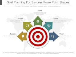 Goal Planning For Success Powerpoint Shapes