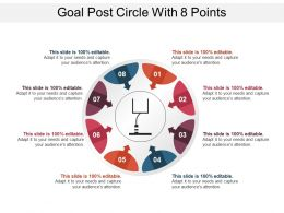 Goal Post Circle With 8 Points