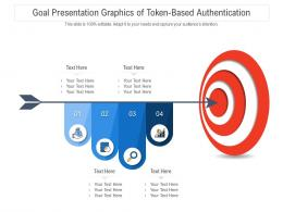 Goal Presentation Graphics Of Token Based Authentication Infographic Template