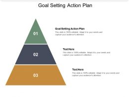 Goal Setting Action Plan Ppt Powerpoint Presentation Outline Topics Cpb