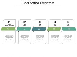 Goal Setting Employees Ppt Powerpoint Presentation Graphics Cpb