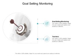 Goal Setting Monitoring Ppt Powerpoint Presentation Graphics Cpb