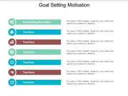 Goal Setting Motivation Ppt Powerpoint Presentation Ideas Picture Cpb