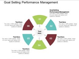 Goal Setting Performance Management Ppt Powerpoint Presentation Infographic Cpb