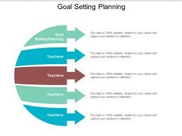 Goal Setting Planning Ppt Powerpoint Presentation Portfolio Structure Cpb