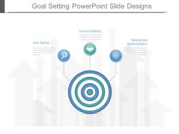 Goal Setting Powerpoint Slide Designs