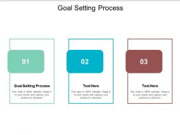 Goal Setting Process Ppt Powerpoint Presentation Outline File Formats Cpb