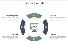Goal Setting Skills Ppt Powerpoint Presentation File Pictures Cpb
