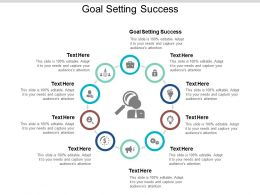 Goal Setting Success Ppt Powerpoint Presentation Styles Format Ideas Cpb