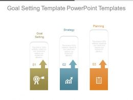 Goal Setting Template Powerpoint Templates