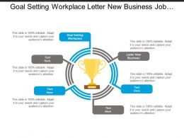 Goal Setting Workplace Letter New Business Job Search Cpb