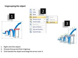 goal_slides_with_traffic_cones_zig_zag_path_presentation_diagrams_templates_powerpoint_info_graphics_Slide03