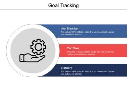 Goal Tracking Ppt Powerpoint Presentation Ideas Files Cpb