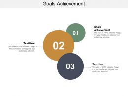 Goals Achievement Ppt Powerpoint Presentation Icon Slide Cpb