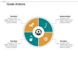 Goals Actions Ppt Powerpoint Presentation Icon Gallery Cpb