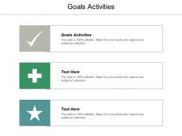Goals Activities Ppt Powerpoint Presentation Gallery Slide Portrait Cpb