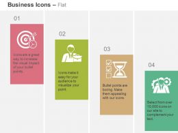 Goals And Objective Business Portfolio Time Management Developer Ppt Icons Graphic
