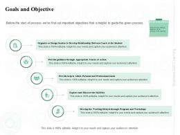 Goals And Objective Professional Ppt Powerpoint Presentation Icon Example