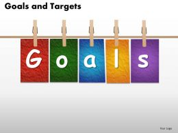 Goals and Targets 10