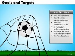 Goals and Targets 9