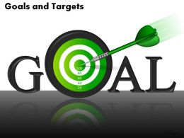 Goals And Targets Powerpoint Slides