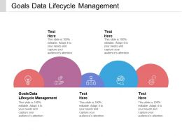 Goals Data Lifecycle Management Ppt Powerpoint Presentation File Skills Cpb