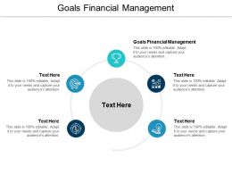 Goals Financial Management Ppt Powerpoint Presentation Professional Graphic Images Cpb
