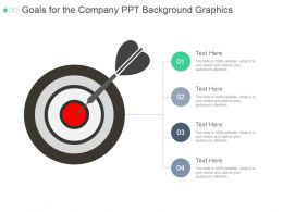Goals For The Company Ppt Background Graphics