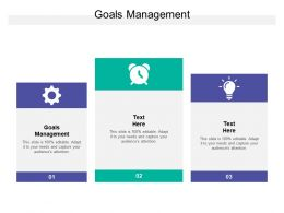 Goals Management Ppt Powerpoint Presentation Icon Styles Cpb