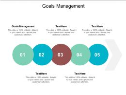 Goals Management Ppt Powerpoint Presentation Portfolio Design Inspiration Cpb