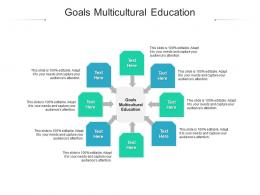 Goals Multicultural Education Ppt Powerpoint Presentation Ideas Designs Download Cpb