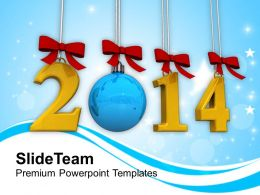 Goals New Year 2014 PowerPoint Templates PPT Backgrounds For Slides 1113