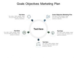 Goals Objectives Marketing Plan Ppt Powerpoint Presentation Infographic Cpb