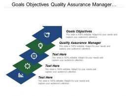 Goals Objectives Quality Assurance Manager Generic Competitive Strategies