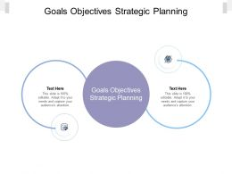 Goals Objectives Strategic Planning Ppt Powerpoint Presentation Styles Example Cpb
