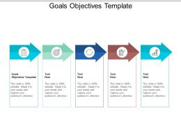 Goals Objectives Template Ppt Powerpoint Presentation Styles Graphic Tips Cpb