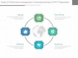 Goals Of Performance Management In Business Example Of Ppt Presentation