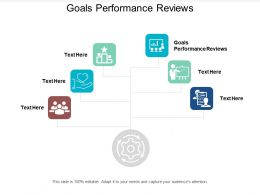 Goals Performance Reviews Ppt Powerpoint Presentation Inspiration Information Cpb