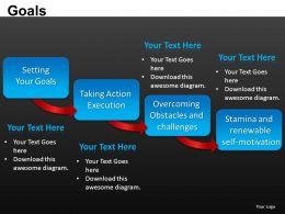 Goals Powerpoint Presentation Slides DB